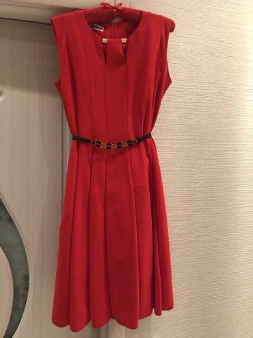 Bakı şəhərində Платье красное. размер 42. покупала за 120