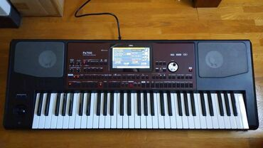 51 объявлений: 61-клавишный профессиональный синтезатор Korg Pa700, новый. Заказывали