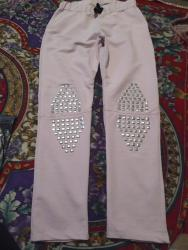 розовая мужская одежда в Кыргызстан: Женские брюки Ariadna M
