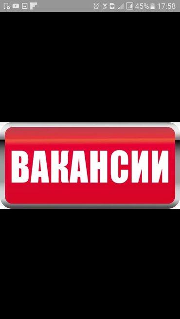 требуется реализатор. опыт не имеет значения. г/р5/2. в Бишкек
