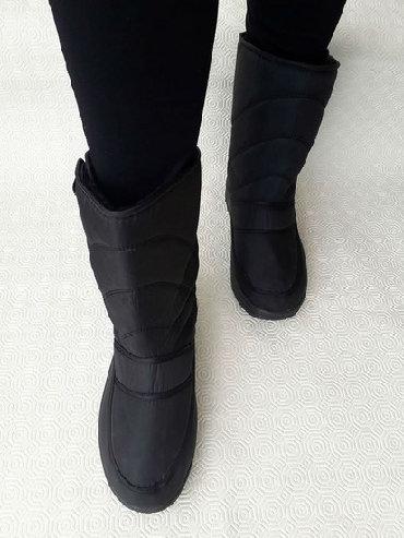 Cizme- broj 38 - NOVO- Vodootporne cizme- nalozene jako tople. Broj 38