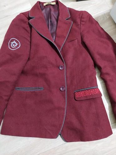 Школьная форма - Кыргызстан: Пиджак школьной формы в хорошем состоянии подойдёт для 6-7 класса
