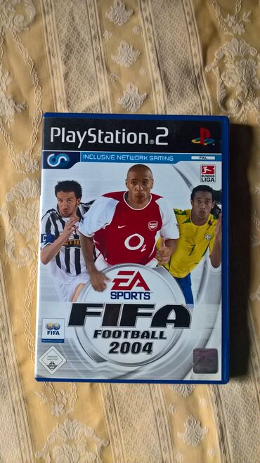 PS2 & PS1 (Sony PlayStation 2 & 1) | Srbija: FIFA FOOTBALL 2004=playStation 2=ispravne su testirane juce stigle iz