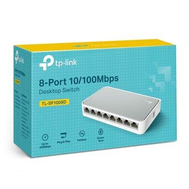 Bakı şəhərində Təzə Hub 8 port TP-link Switch 1008 rəsmi zəmanətlə bağlı