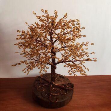 Деревья и украшения из бисера в наличии и на заказ. Подойдёт в качеств