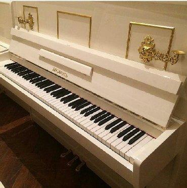 Pianino беларусь Rusiya stehsalı. Əla vəziyyədədi. Cadırılma və