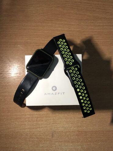 Аксессуары - Ош: Продаются часы Amazfit bip  Комплект:коробка,зарядка,дополниельный рем