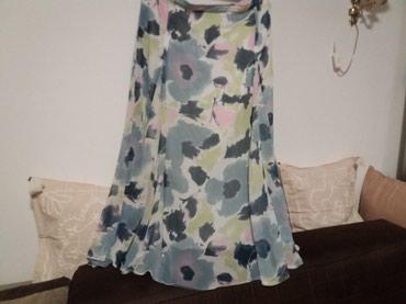 Suknja-duzina - Srbija: Divna suknja nova struk 90 duzina 89.Velicina 46