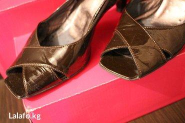 Босоножки б/у , куплены в Италии за 8600, в хорошем состоянии, натурал в Лебединовка - фото 5
