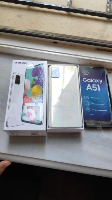 bmw 5 серия 525i 5mt - Azərbaycan: Yeni Samsung A51 128 GB ağ