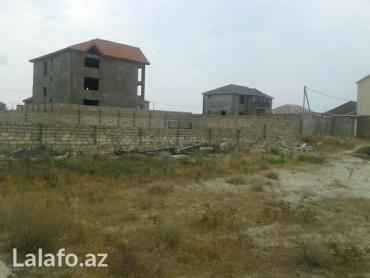 Bakı şəhərində Hovsanda deniz kenarinda,denize 300m mesafede kenari hasarli 6 sot tor