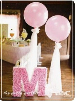 Цифры и буквы на день рождения в Bakı