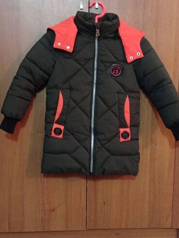 Куртка на мальчика 7 - 8 лет б/у одевали 2 раза, почти новая, зимняя