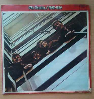 Lp The Beatles/1962-1966, dupli album, Jugoton. Preuzimanje po - Belgrade