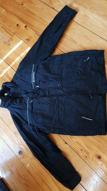 Muska jakna, postavljena sa prslukom, koji se skida, ima kapuljacu, - Belgrade