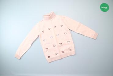 Дитячий светр із паєтками Mothercare, на вік 7-8 років, на зріст до 12