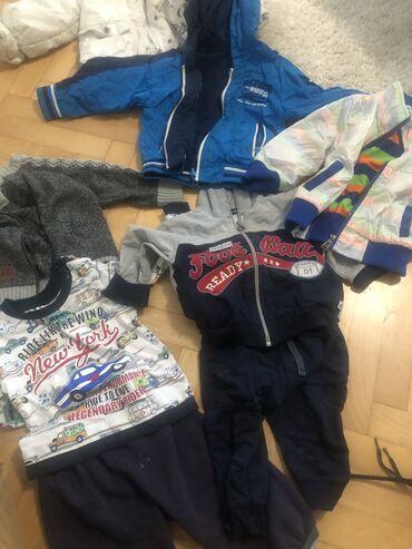 Paket odece i obuce prodaja hitnoDve jaknice, dva para trenerkica i