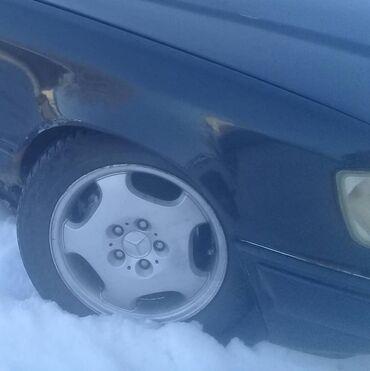 Диски р16для мерса неваренные ровные на зимних шинах.обмен нет