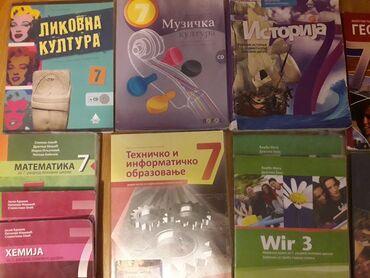 Sport i hobi - Sremska Mitrovica: Prodajem knjige za sedmi razred. cena 2000. Moze i pojedinacno, cena