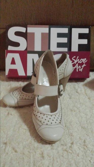 Kožne krem cipele, nove, moderne, 37 velicina - Velika Plana