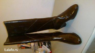 Italijanske cizme br - Srbija: Prodajem potpuno nove italijanske cizme, u cokoladno braon boji. Broj