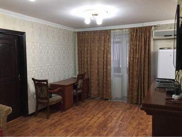 квартиры восток 5 in Кыргызстан   ПОСУТОЧНАЯ АРЕНДА КВАРТИР: Индивидуалка, 2 комнаты, 47 кв. м Бронированные двери, С мебелью, Кондиционер