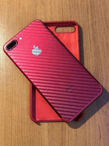 apple iphone a в Кыргызстан: Б/У iPhone 7 Plus 128 ГБ Красный
