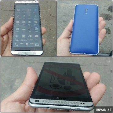 Bakı şəhərində Duas HTC 700 Qeseng veziyyetde Arxa on kamerasi , micro card yeri