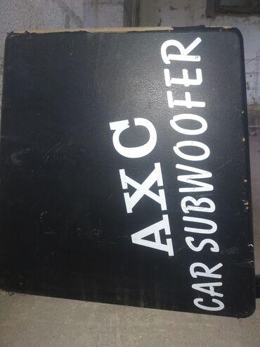 саб в Кыргызстан: Продаю subwoofer axc