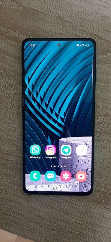 вотсап в Кыргызстан: Б/у Samsung A51 128 ГБ Голубой