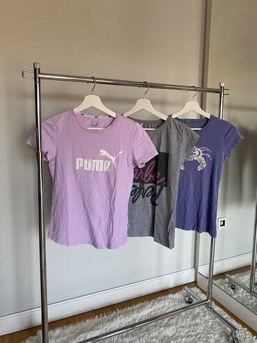 Paket zenskih majica xs i s velicine. Original puma,benetton i new