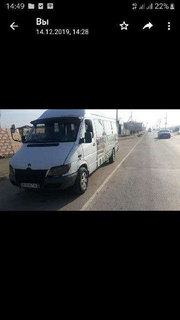 Mercedes-Benz Sprinter 2.9 л. 2003 | 222222 км