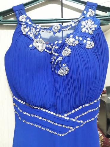 синее вечернее платье в Кыргызстан: Продаю нежное, красивое вечернее платья