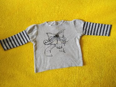 Dodipetto bluza za bebe devojčiceVeličina 80Čist pamuk lepša