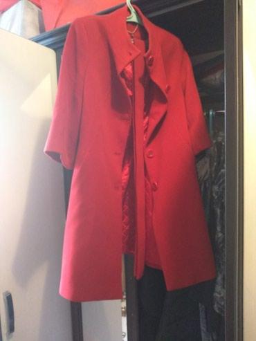 Срочно продаю классное модное пальто в Бишкек