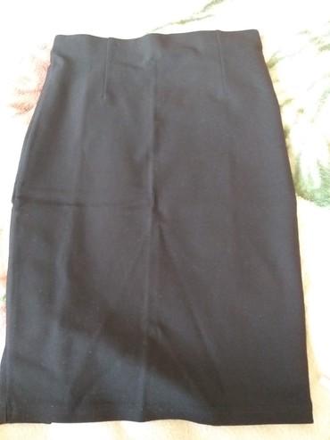 Юбка карандаш, цвет сочный черный,просто фото неудачно получилось