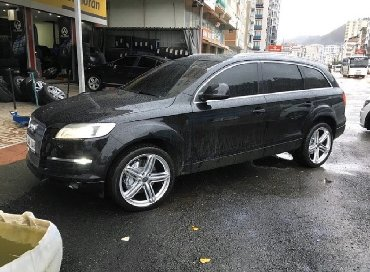 audi-allroad-25-tdi - Azərbaycan: Audi Q7 üçün 21 disk. Disk sırf arjinaldır maşının üsdünnən çıxıb