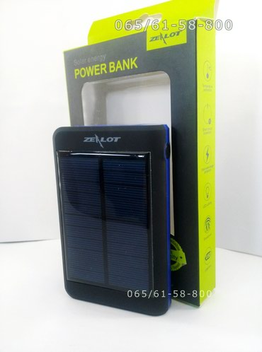 Power bank - Eksterna baterija - Solarna power bank - Zealot Y2 - - Pancevo