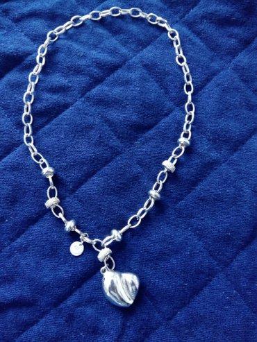 ogrlica tiffany,posrebrena ,925 srebro,ima zig kao nova kupljena na ta - Crvenka
