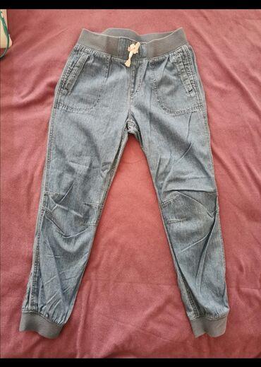 Versace farmerke pantalone - Srbija: Farmerke-pantalone 128cm