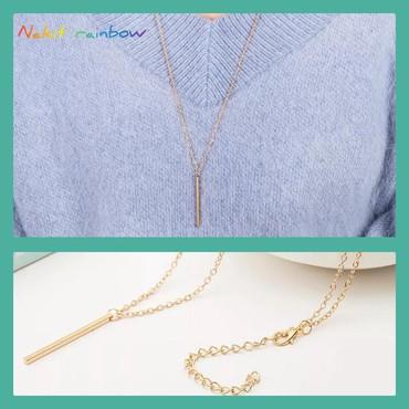 Ogrlica sa priveskom u boji zlata