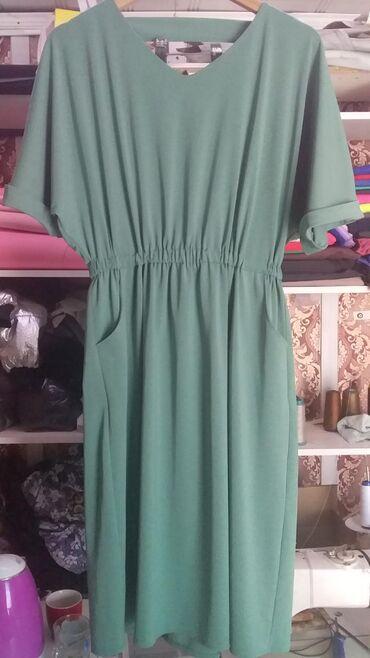 Женская одежда - Джал: Платье Б/У ( в отличном состоянии, как навое ). Размер 50-52. За 500