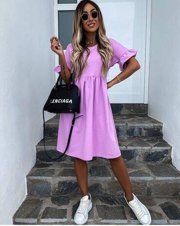 Haljina NOVO!*Nova Kolekcija *Dostupne boje : crna, roze, bela