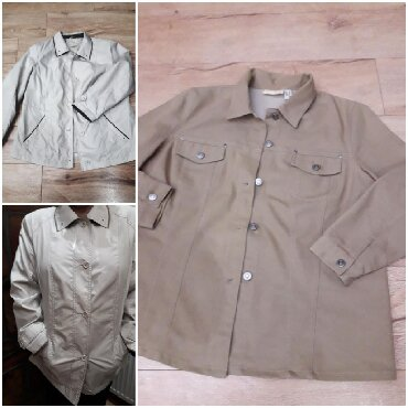 Suknjica jeans - Srbija: Jakna+Košulja od jeansa oba vel 46 za 800 veoma očuvano .klasičan stil
