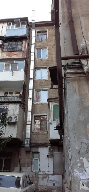 Borular Azərbaycanda: Havalandırma boru 28 metr muhərriklə