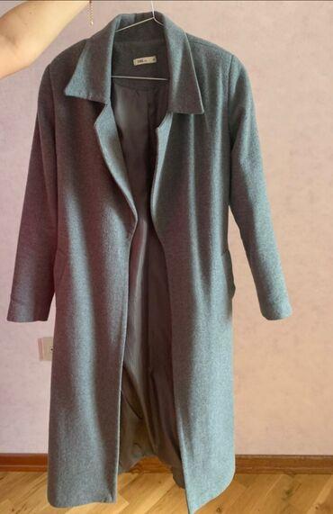 Boz Drap palto 80 azna alinib cox az geynilib original ici astarlı
