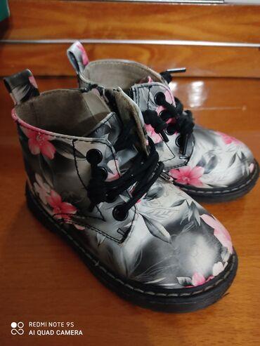 Срочно! Продаю детские Деми ботинки! 24 размер,кожзам. Цена 400 сом