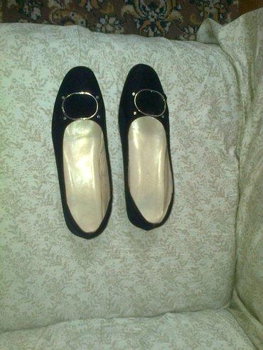 туфли чёрные замшевые в Кыргызстан: Туфли новые замшевые черные. размер 37. цена 1900 сом