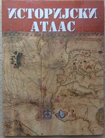 Istorijski atlas za osnovnu i srednju školu, izdavač - Belgrade