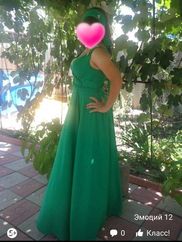 Очень красивое легкое летнее платье + в Токмак